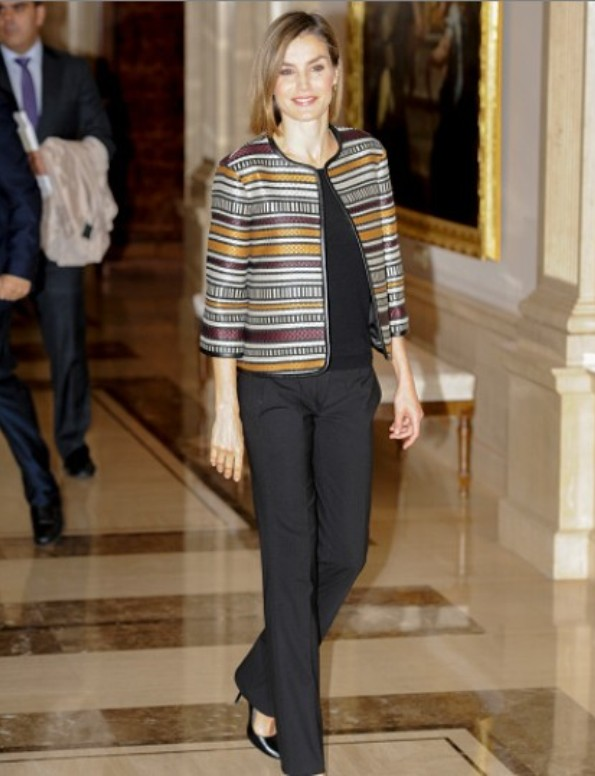 Queen Letizia attended A Council Meeting With Royal Board