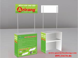 Booth bán hàng ARiRang