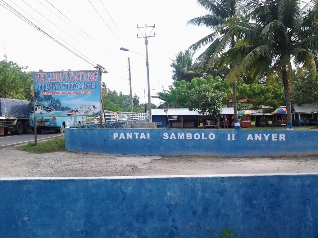 Pantai Sambolo Surga Tersembunyi di Anyer Banten