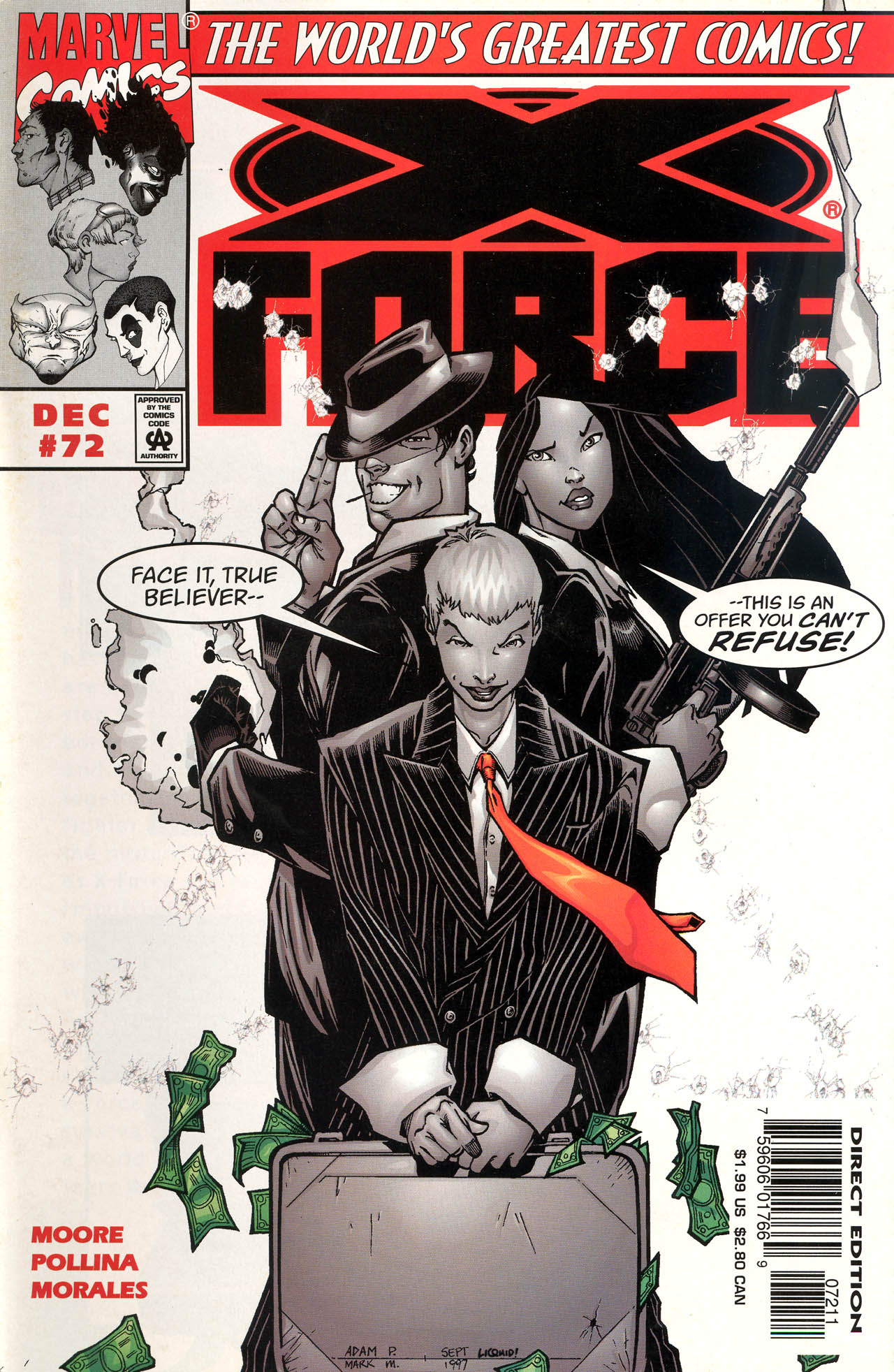 Read online X-Force (1991) comic -  Issue #72 - 1