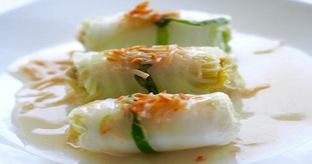 Napa Cabbage Rolls Recipe