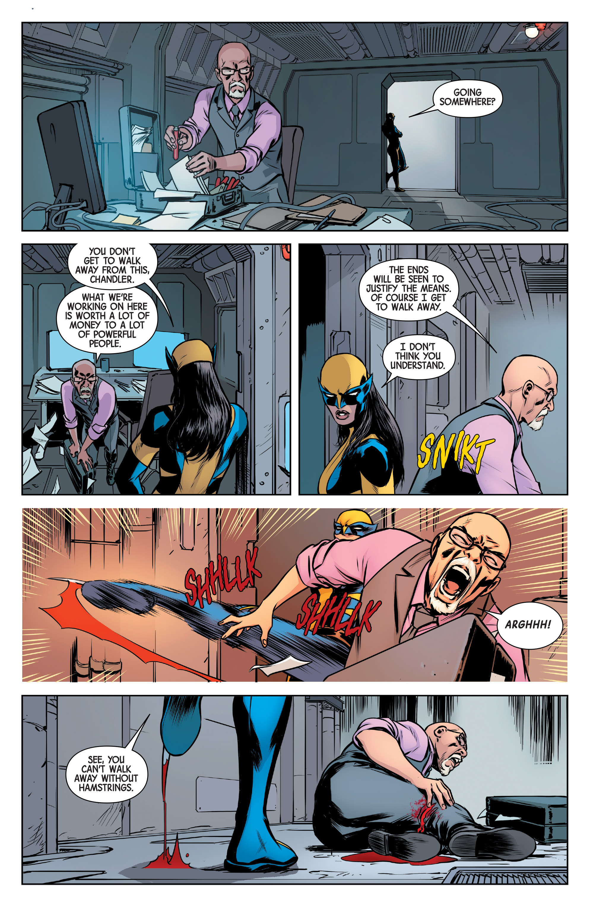 Read online All-New Wolverine (2016) comic -  Issue #6 - 17