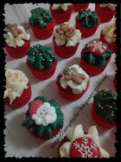 http://amymafer.blogspot.com.es/2018/01/minicupcakes-variados-navidenos.html