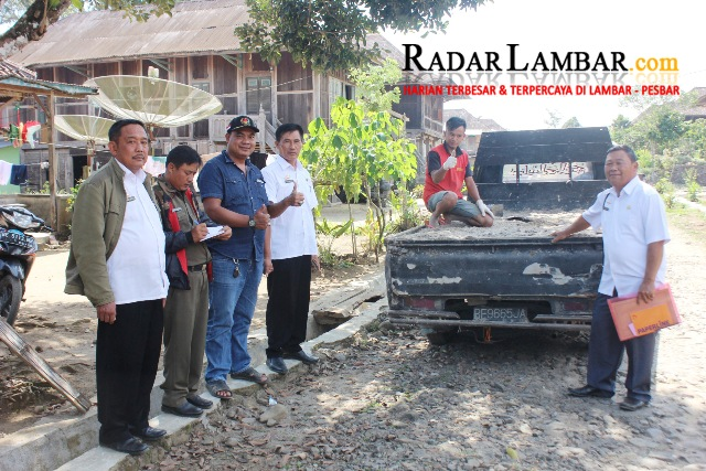 Tim Monev Dana Desa Belalau Kroscek Fajaragung dan Serungkuk