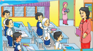 Bahasa Arab Lingkungan Sekolah