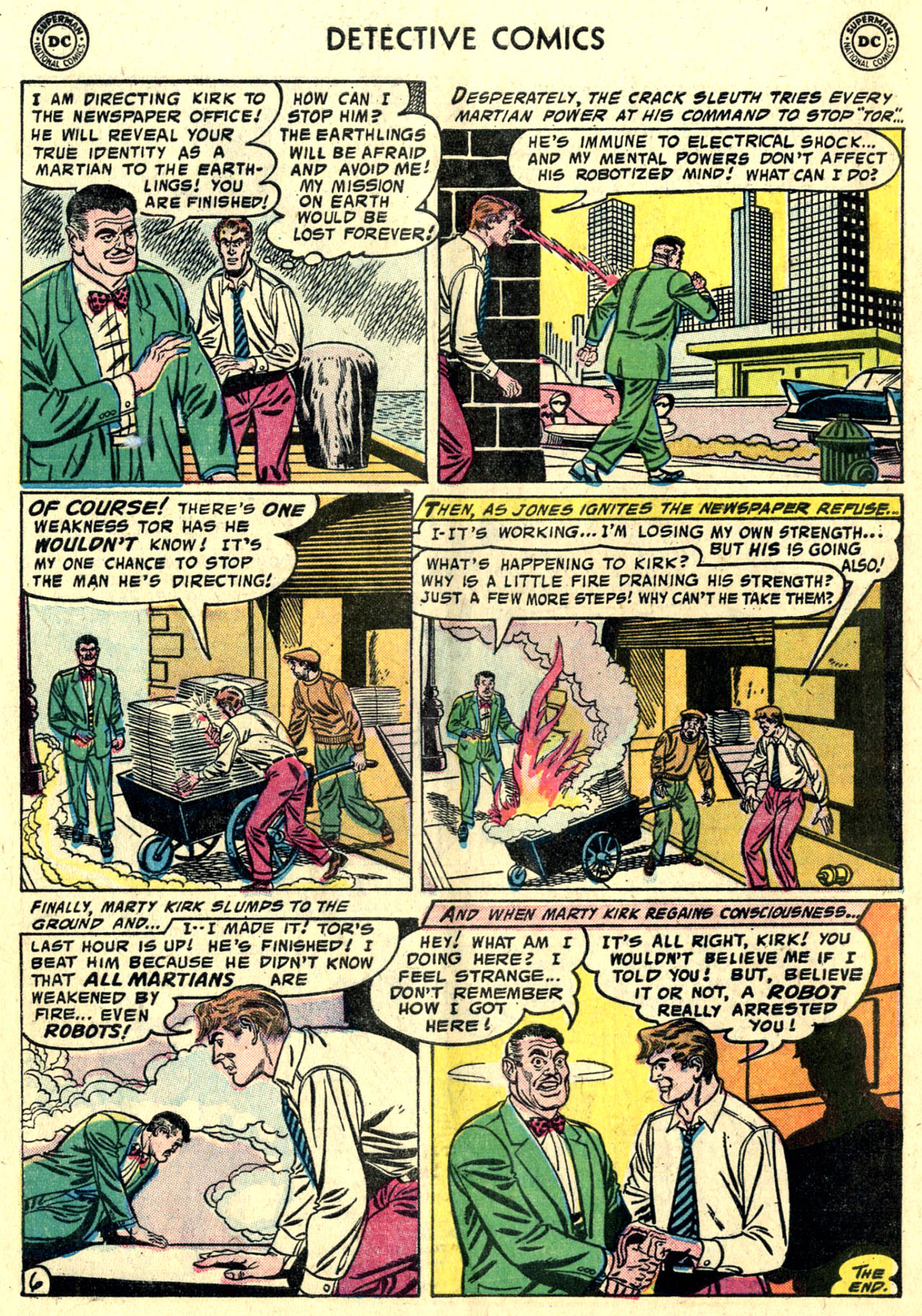Read online Detective Comics (1937) comic -  Issue #243 - 32