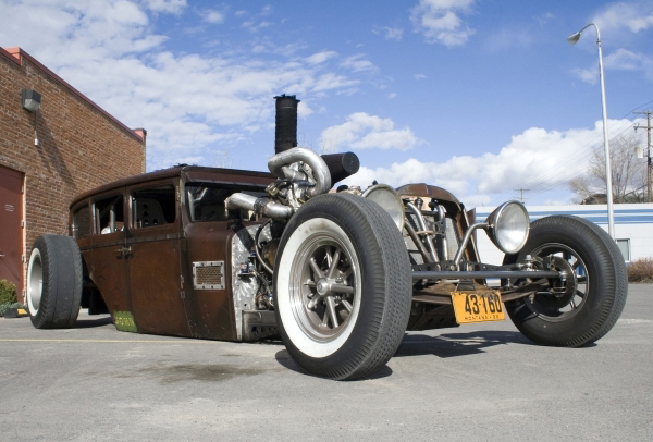 Rat Rod  Dodge Brothers 1929  Diesel Pictures Gallery