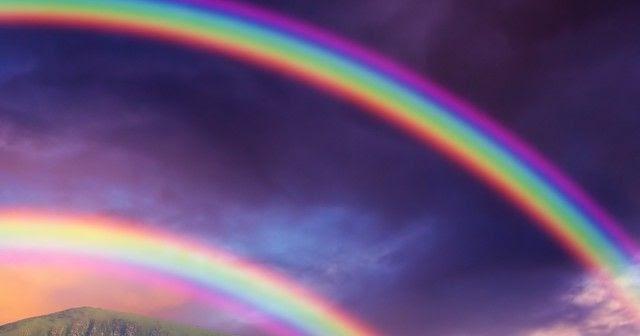 Double Rainbow Maria Antheas Blog - 17 breathtaking photos of rare double rainbows