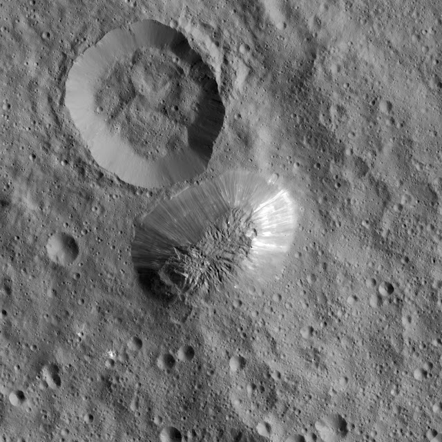 Dwarf planet Ceres may have vanishing ice volcanoes