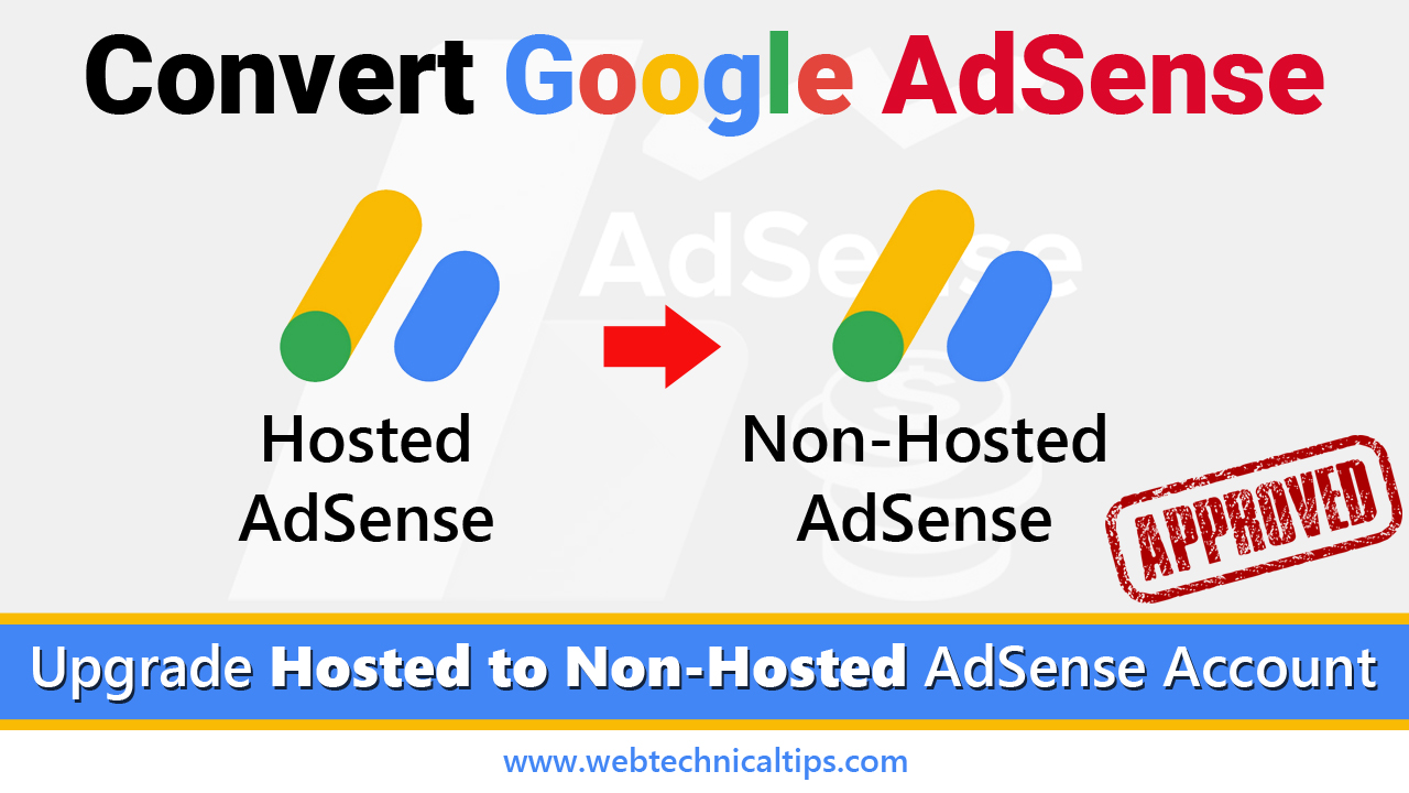 How to convert hosted account to non-hosted account