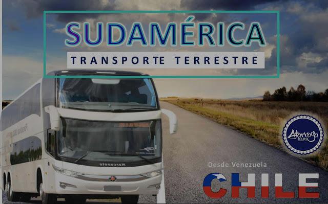 IMAGEN Bus desde venezuela a chile