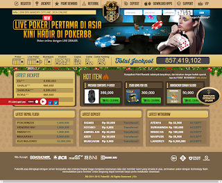 Poker88 | Agen Poker Online Terpercaya dan Terbesar di Asia
