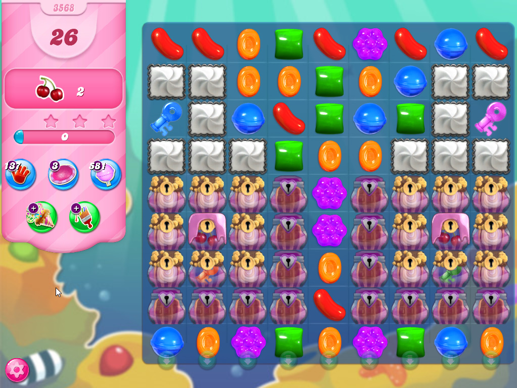 Candy Crush Saga level 3568