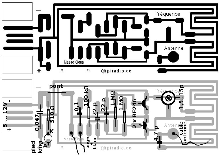 green computer circuit board with electronics components and
