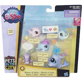 Littlest Pet Shop Mommy & Babies Donner O'Dolphin (#228) Pet