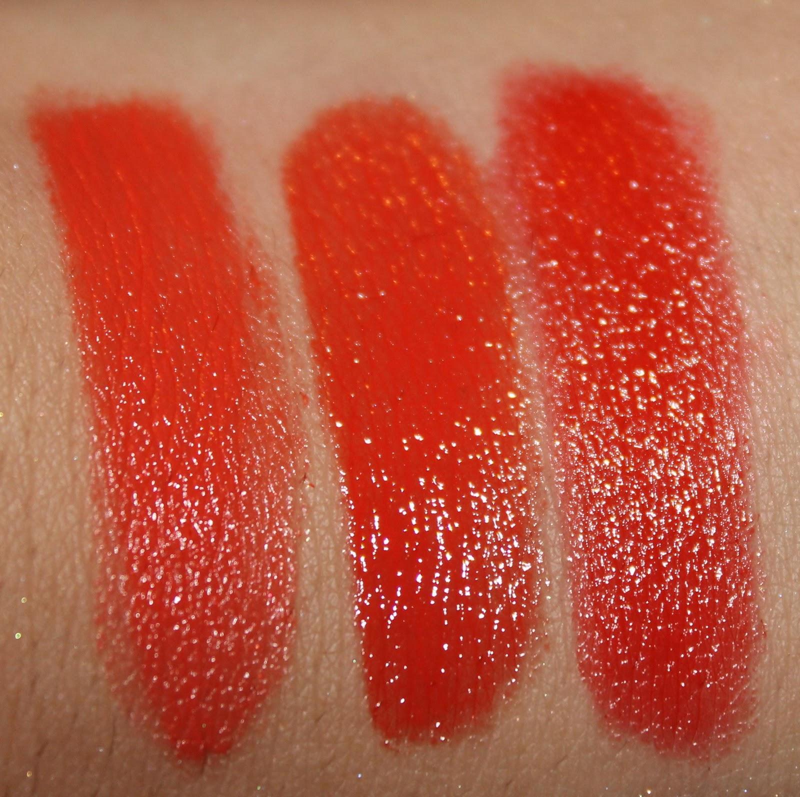 mac sheen supreme lipstick korean candy swatch
