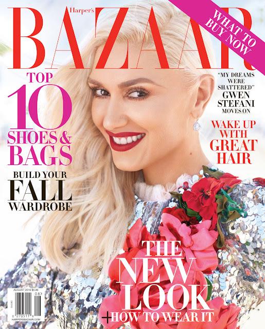 Actress, Singer, @ Gwen Stefani by Alexi Lubomirski for Harper's Bazaar US, August 2016