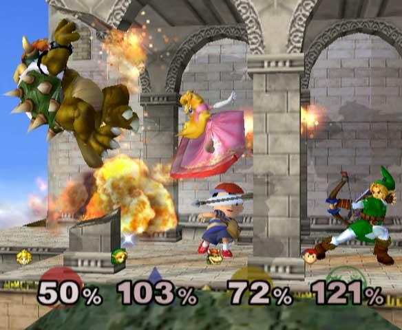 Super Smash Bros Melee PC Full Ingles