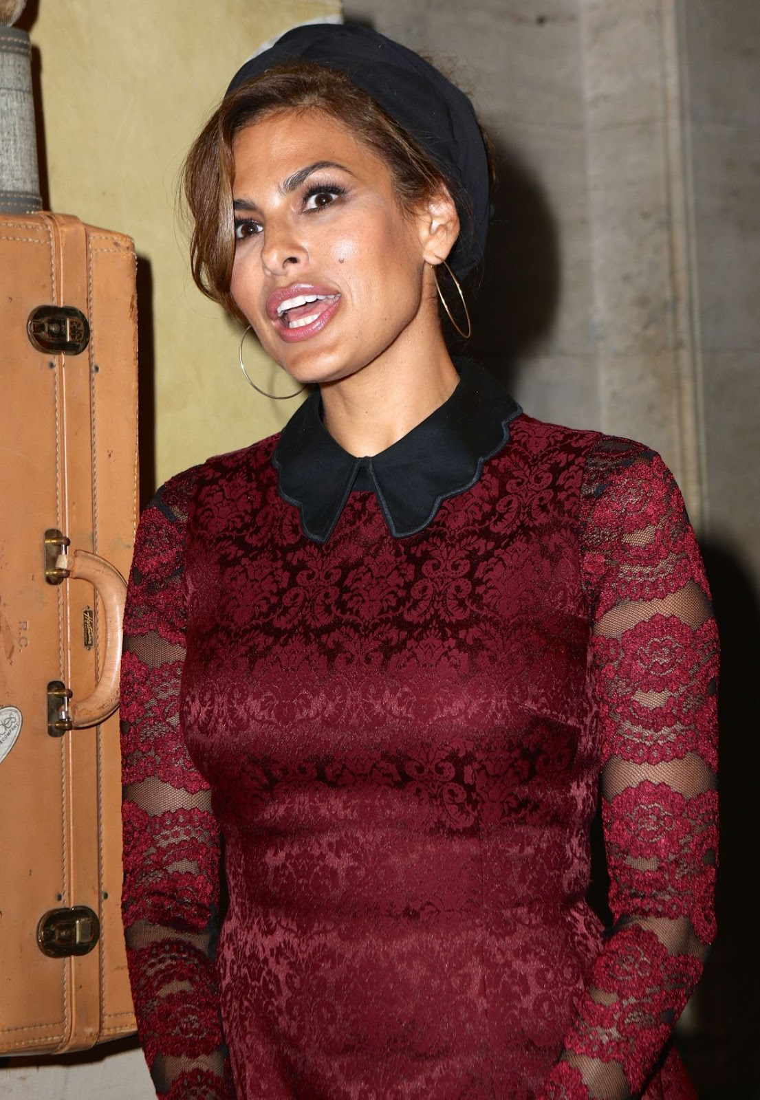 'Fast 8' actress HQ Photos of Eva Mendes At New York Company Front Row FW16 Runway Show In New York