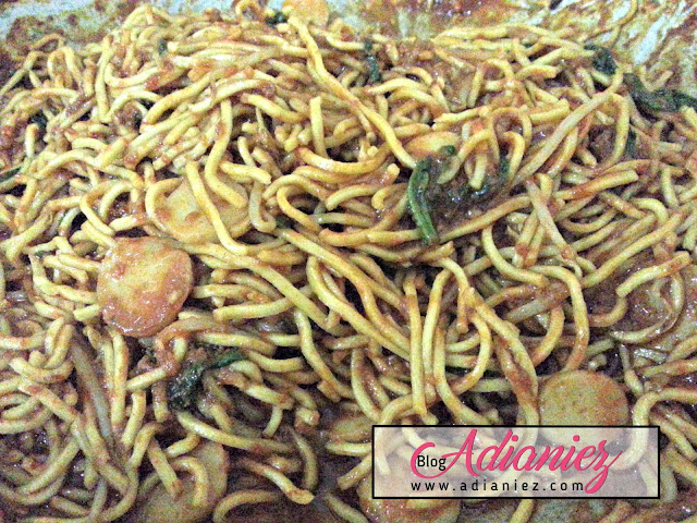 Wordless Wednesday : Mee Goreng Basah