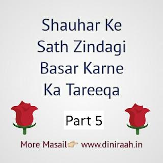 Shauhar Ke Sath Zindagi Basar Karne Ka Tareeqa   Part-5