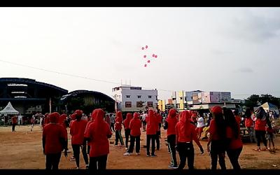 Pelepasan balon ke udara