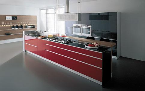 Sga belli piros konyh t szeretn k for Entrate case moderne