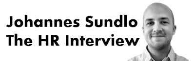 Banner that says, Johannes Sundlo: The HR Interview