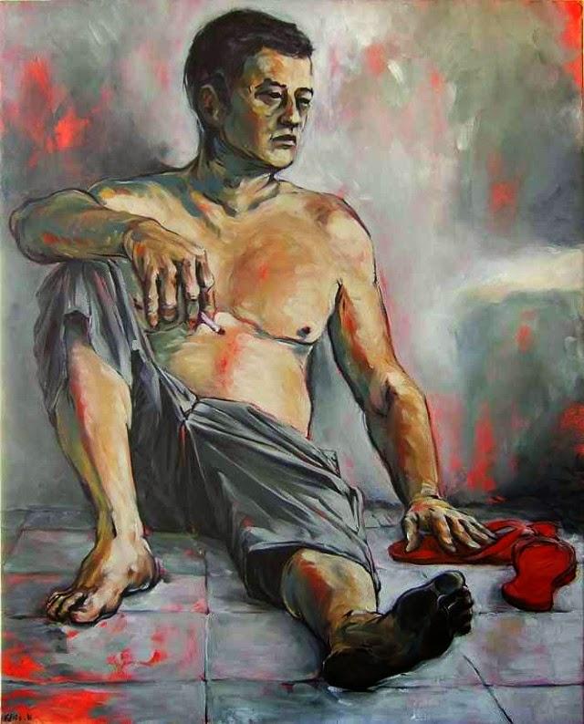 Французский художник. Felix Hemme