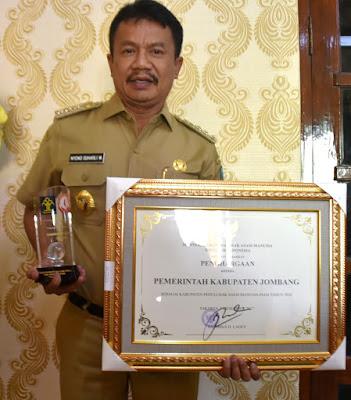 Jombang Raih Penghargaan Kabupaten Peduli HAM