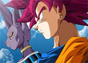 Dragon Ball Goku and Bills Puzzle