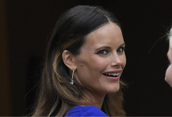 Princess Sofia Hellqvist of Sweden attended the Charity Dinner in benefit of Project Playground