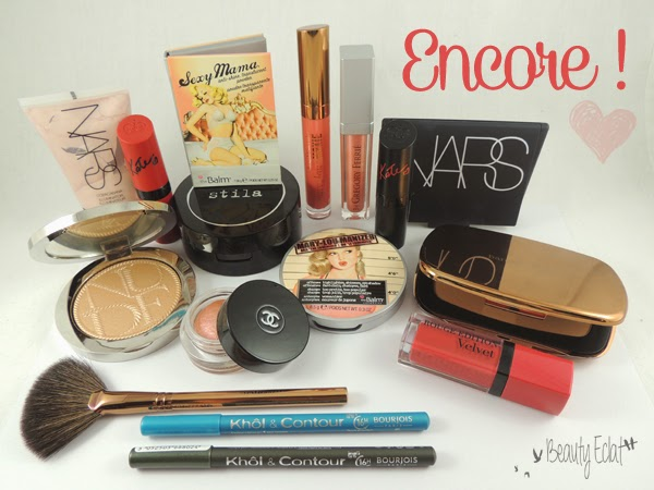 haul beaute chanel dior nars rimmel the balm bourjois