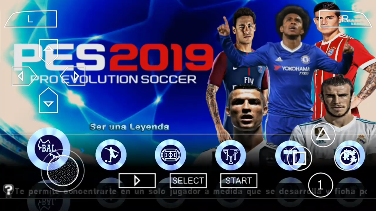 🎉 Cara download pes 2019 lite ppsspp | PES 2019 PPSSPP ISO File