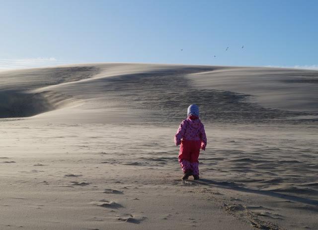 Tipps für einen Tag rund um Skagen. Teil 1: Råbjerg Mile und Grenen. Mein Tipp wenn Ihr Kinder dabei habt: Besucht die Wanderdüne an einem eher windstillen Tag!