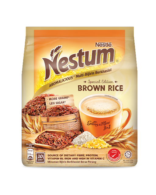 Kick Start Healthier Eating Habits With The Wholesome Goodness Of Nestum Brown Rice Malaysian Foodie