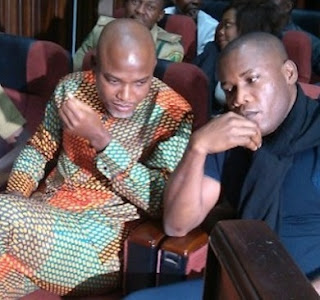 BIAFRA: Another Judge Withdraws Self from Nnamdi Kanu's Case
