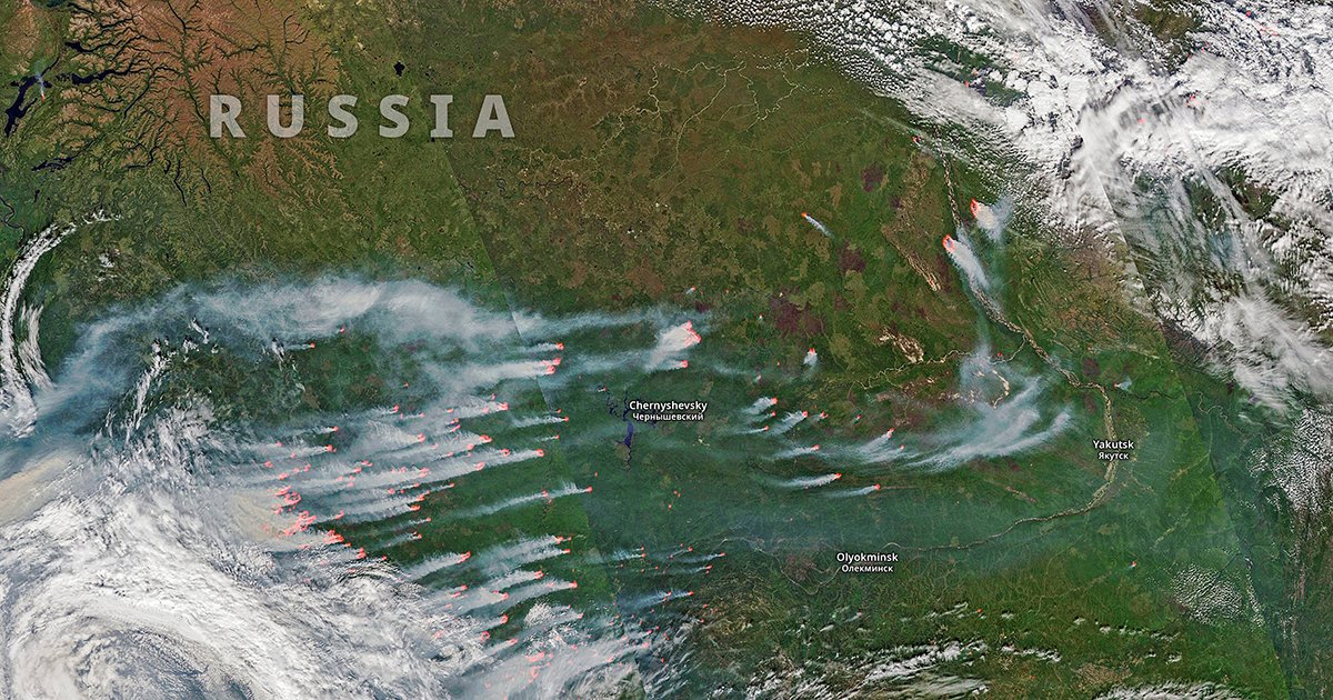 Climate Change Has Made Arctic Fires As Intense As They Were 10,000 Years Ago