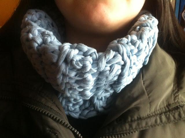 cuello lana, cuello trapo, cuello invierno