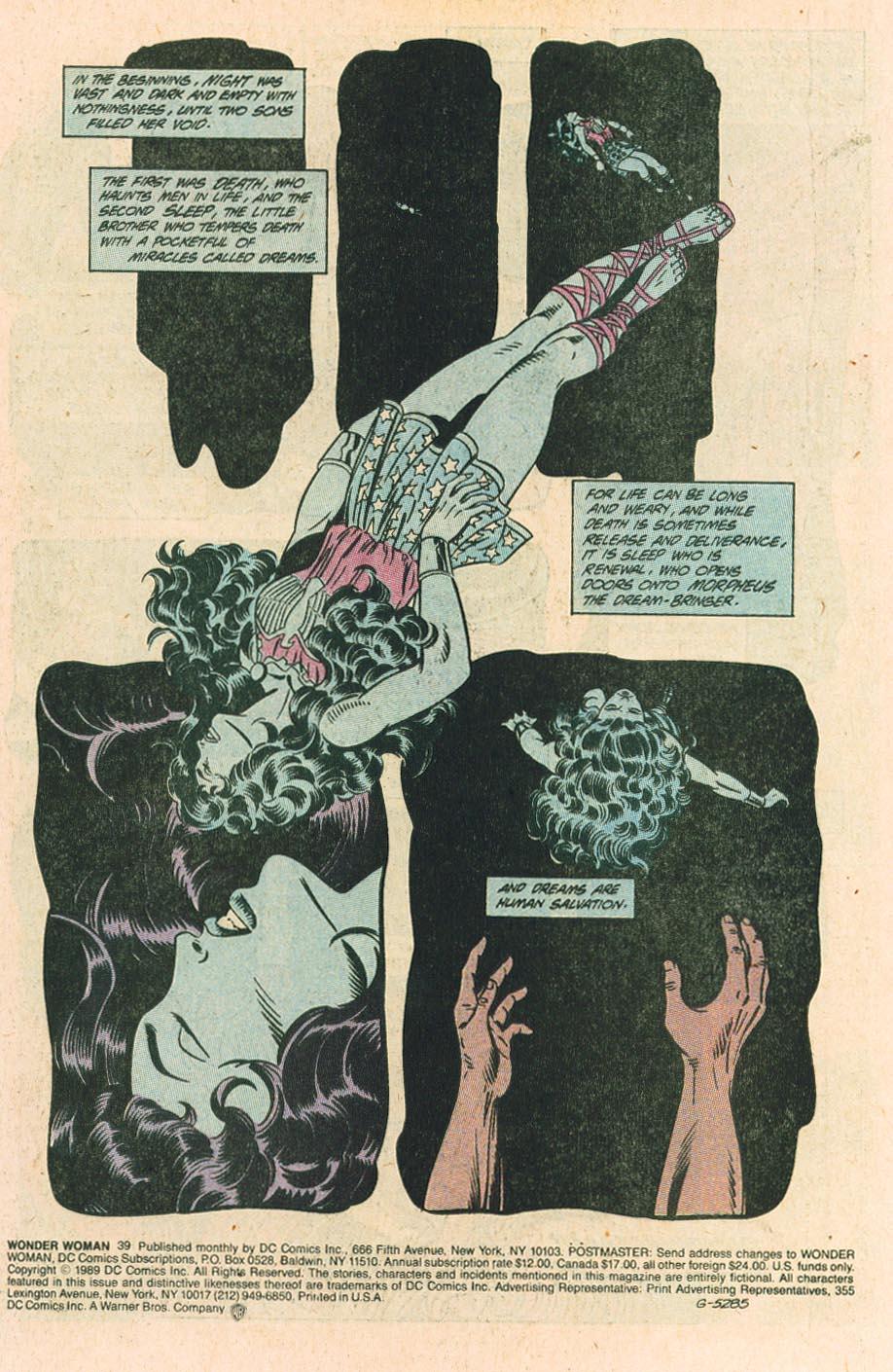 Read online Wonder Woman (1987) comic -  Issue #39 - 3