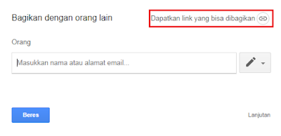 Membuat Direct Link Google Drive