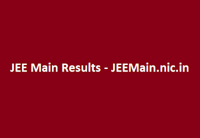 JEE Main Results 2016