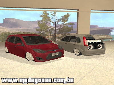 Ford Fiesta Rocam Class 1.6 Edit Devine para GTA San Andreas