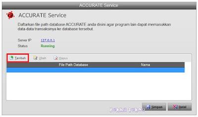 Tambah database