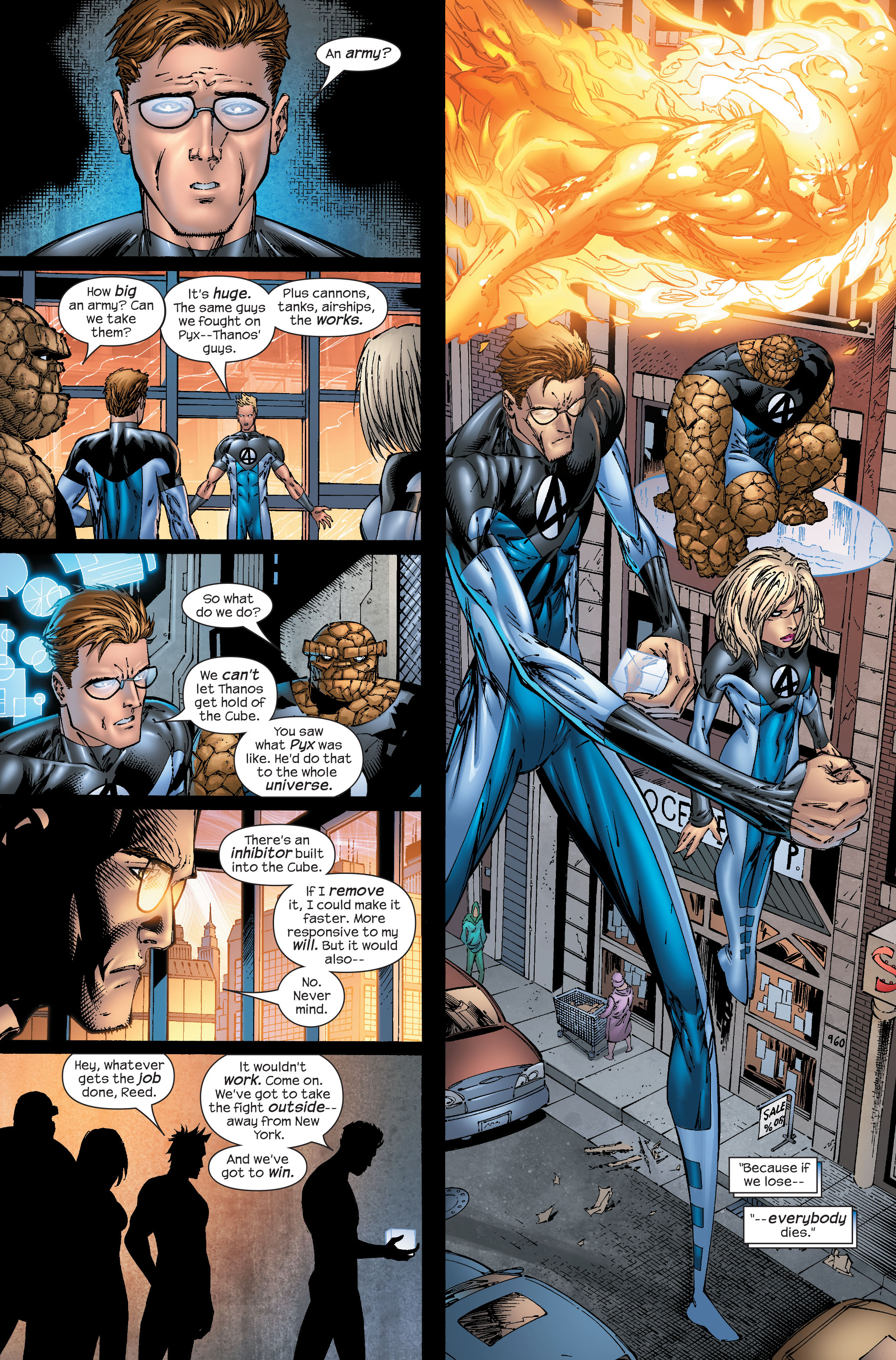 Read online Ultimate Fantastic Four (2004) comic -  Issue #51 - 12