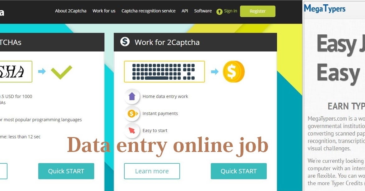 Online Captcha Entry Jobs Without Investment in Pakistan | earn