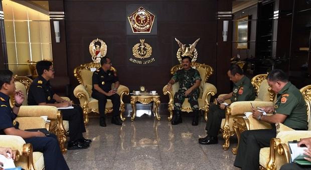 Panglima TNI Terima Audiensi Dirjen Bea dan Cukai