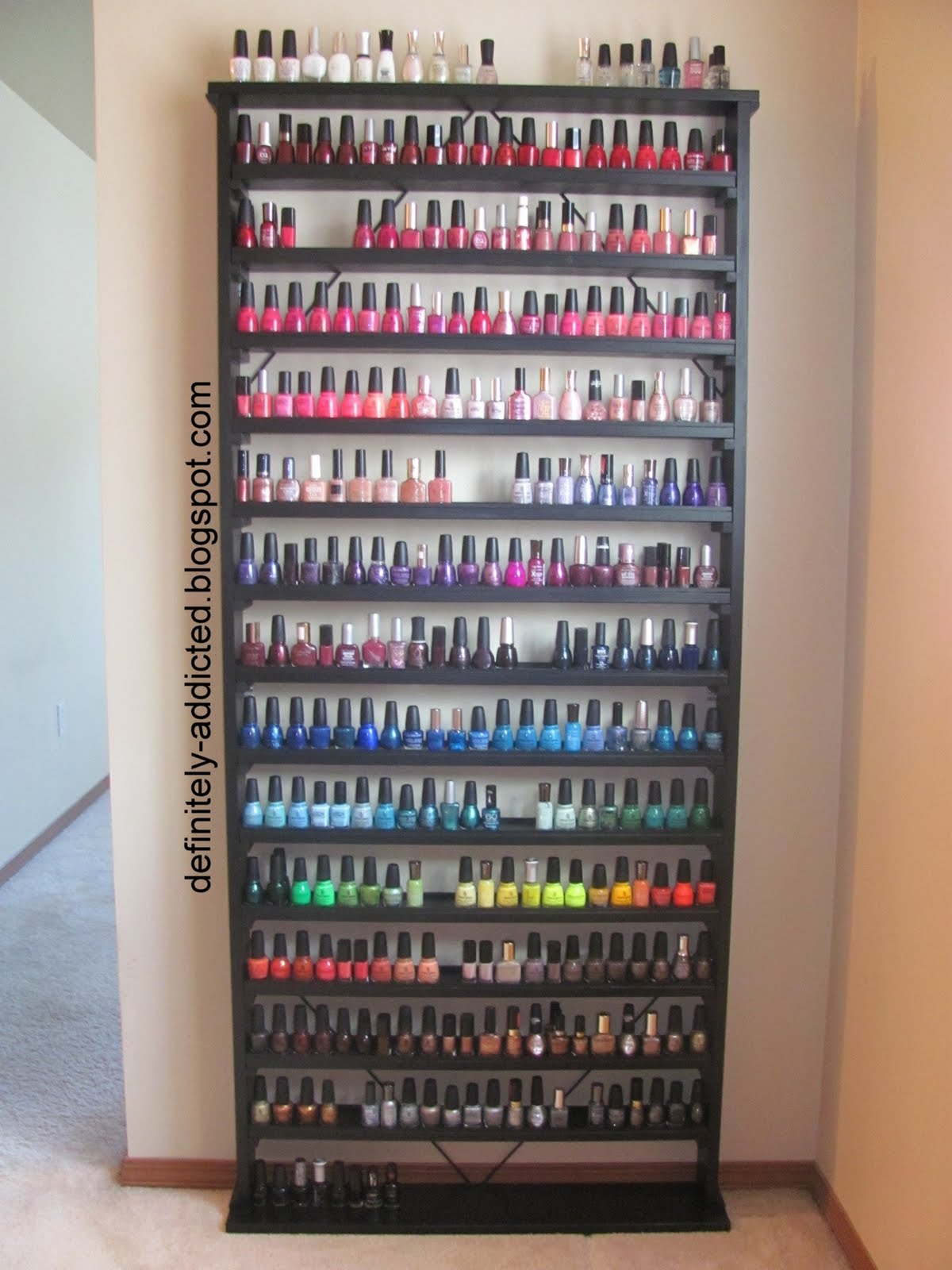 Lacquered Me Talk Tuesdays Options To Store Your Nail Polishes Warning Overdose Of Pictures