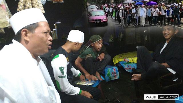 Peserta Aksi Jalan Kaki dari Ciamis Telah Tiba di Bandung