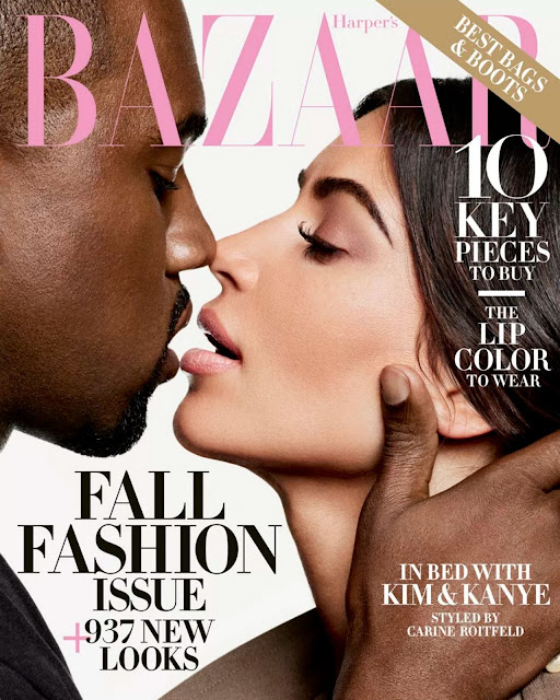 Actress, Model, @ Kim Kardashian & Kanye West by Karl Lagerfeld for Harper's Bazaar US, September 2016